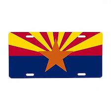 State Flag of Arizona Aluminum License Plate