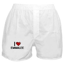I Love Emmalee Boxer Shorts