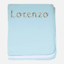 Lorenzo Seashells baby blanket