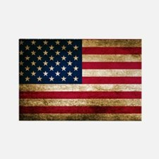Vintage Fade American Flag Magnets