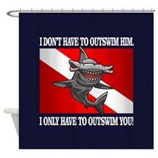 Outswim Shower Curtain