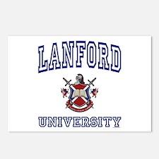 LANFORD University Postcards (Package of 8)