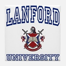 LANFORD University Tile Coaster