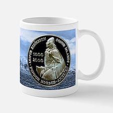 Icelandic Leif Ericson 1000 Kronur Mug