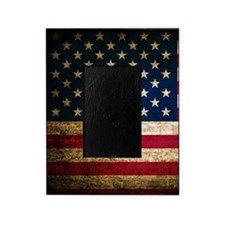 Vintage Fade American Flag Picture Frame