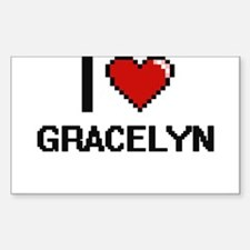 I Love Gracelyn Decal