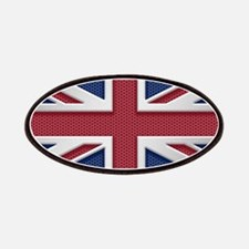 Union Jack Metal Look Patch
