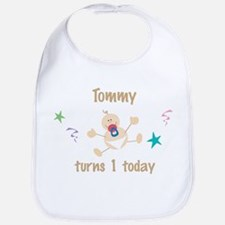 Tommy turns 1 today Bib