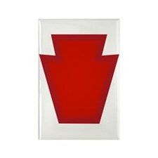 28th Infantry Rectangle Magnet