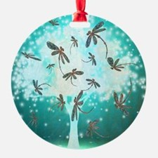 Dragonfly Glow Tree Ornament