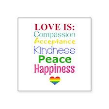 Love Is.... Sticker