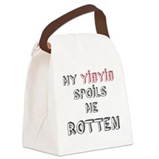 My YiaYia spoils me rotten Canvas Lunch Bag