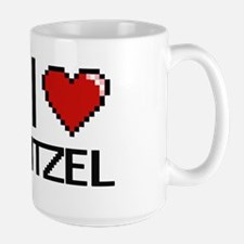 I Love Itzel Mugs