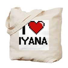 I Love Iyana Tote Bag