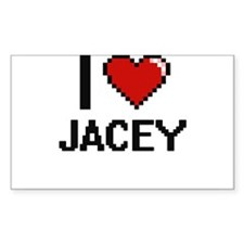 I Love Jacey Decal