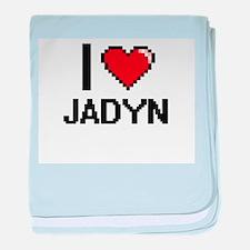 I Love Jadyn baby blanket