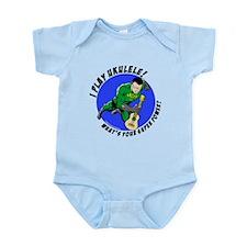 Funny Uke Infant Bodysuit
