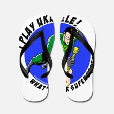 Cute Superheros Flip Flops