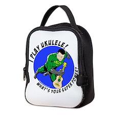 Cute Uke Neoprene Lunch Bag