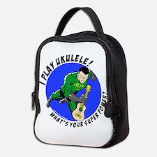 Cute Superhero Neoprene Lunch Bag