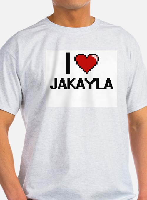 I Love Jakayla T-Shirt