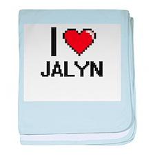 I Love Jalyn baby blanket