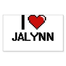 I Love Jalynn Decal