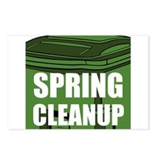 Spring Cleanup Postcards (Package of 8)