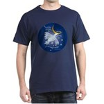 'Bird / Faith' Blue Shirt