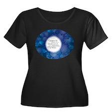 'Caregiver' Definition Blk Shirt (women's)