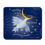 &Quot;Bird / Faith' Mousepad