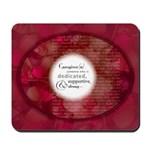 'Definition Of A Caregiver' Mousepad
