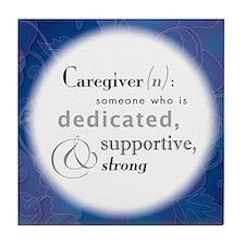 'Definition Of A Caregiver' Coaster