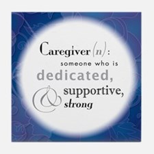 'Definition Of A Caregiver' Coaster