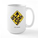 'Life Ahead' Mug