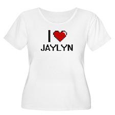 I Love Jaylyn Plus Size T-Shirt