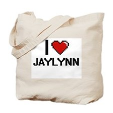 I Love Jaylynn Tote Bag