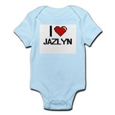I Love Jazlyn Body Suit