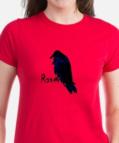 Raven Perched on Raven Tee