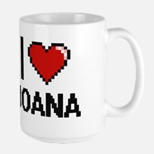 I Love Joana Mugs