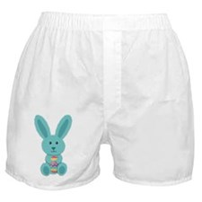 Blue Easter Bunny Boxer Shorts