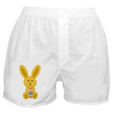 Yellow Easter Bunny Boxer Shorts