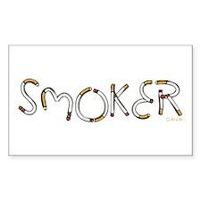 Smoker Rectangle Decal