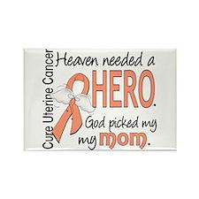 Uterine Cancer HeavenN Rectangle Magnet (100 pack)