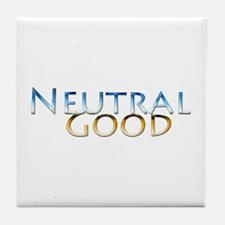 Neutral Good Tile Coaster