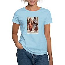 Philosophy Fine Art Prints: Women's Pink T-Shirt