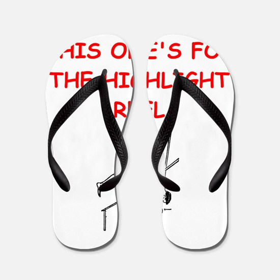 pole vault Flip Flops