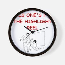 racket ball Wall Clock