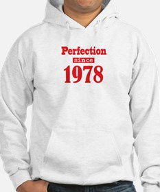 Perfection since 1978 Jumper Hoodie