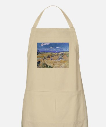 Vincent Van Gogh Wheat Stacks With Reaper Apron